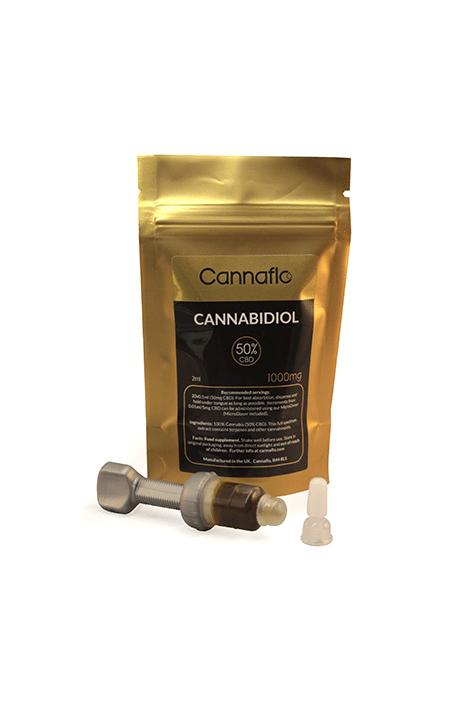 50% High Strength Hemp Oil | Micro-Doser kit for Cannaflo Micro-Doser