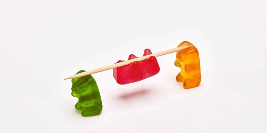 We don't do Gummy Bears